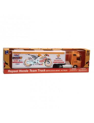 Modèle Réduit Camion Repsol Honda Racing Team 1/43 - boite