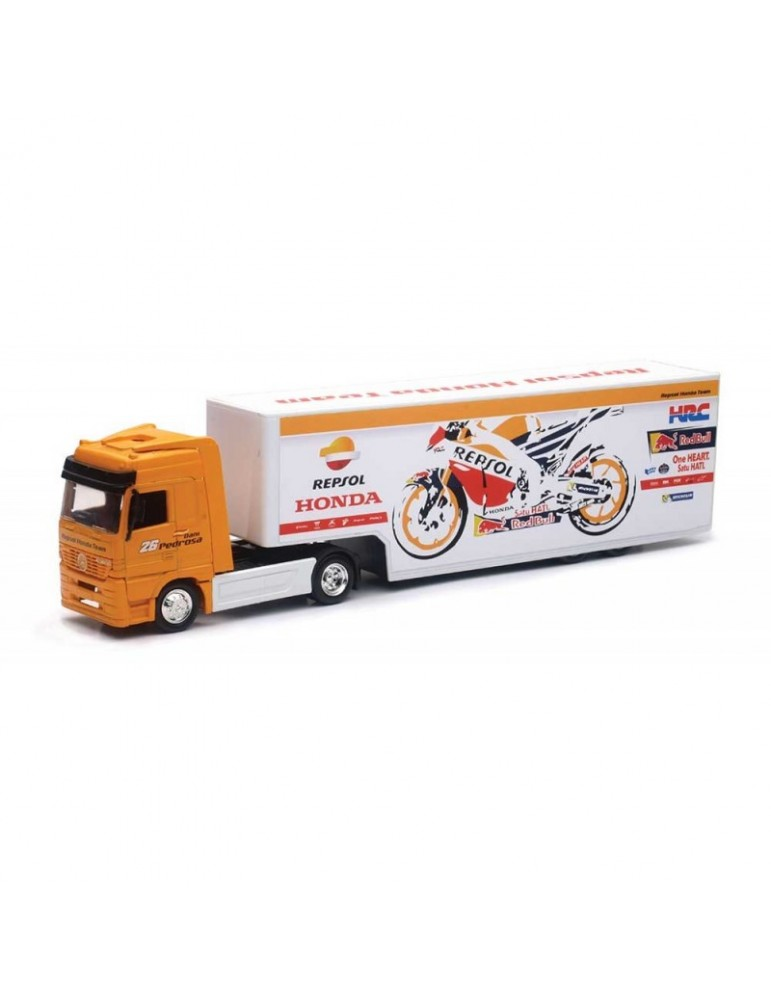 Modèle Réduit Camion Repsol Honda Racing Team 1/43