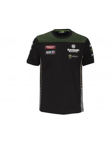 T-shirt WSBK Homme - Kawasaki 2020 - vue de face - 177KRM042 x