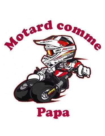 Hoodie Garçon Capuche Motard Moto Enfants DEL Blink effet 30176