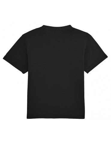 Tee Shirt Bébé Motard Champion -  Personnalisable - noir - dos