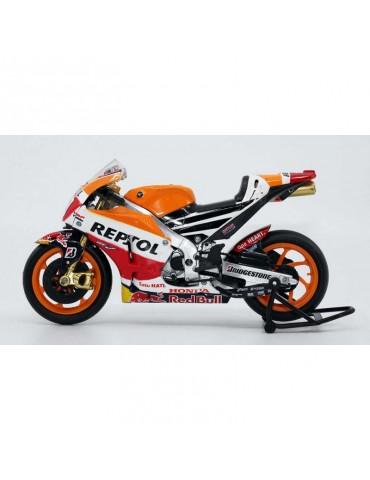 Modèle réduit Honda RCV MotoGP Marquez - vue de côté gauche