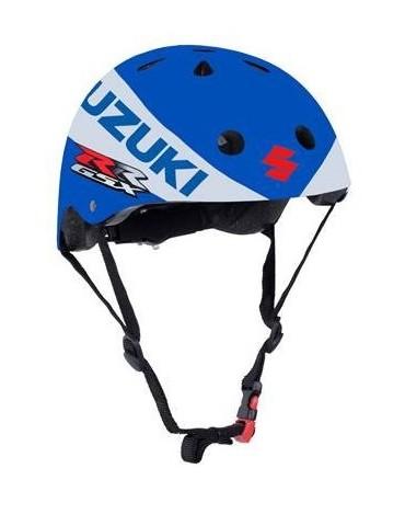 Suzuki Champion du Monde - casque draisienne - vélo - skate