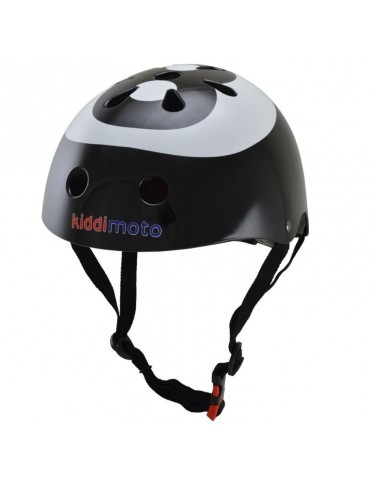 Casque Draisienne Eight Ball Kiddimoto - vue de face