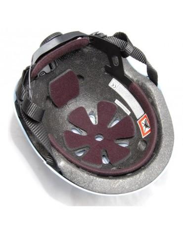 Casque Draisienne noir mat Kiddimoto - vue de dessous