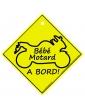 Bébé Motard à bord