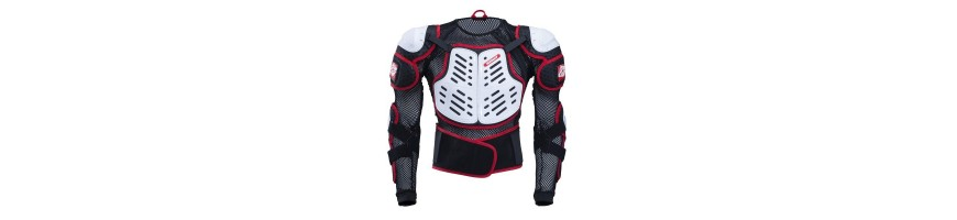 Protections motocross enfant