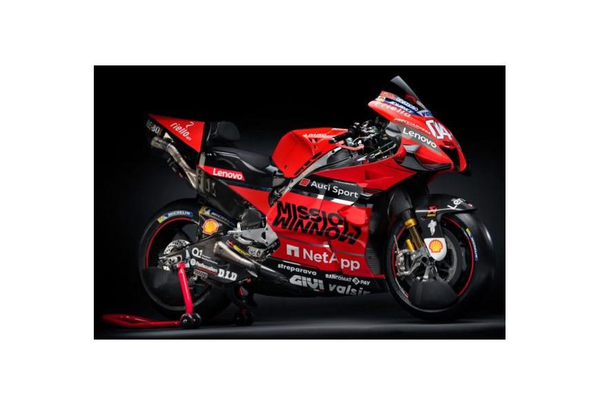 Présentation Ducati MotoGP 2020