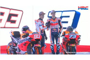 Présentation Honda MotoGP 2020