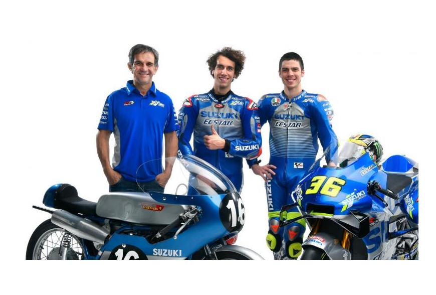 Présentation Suzuki MotoGP 2020
