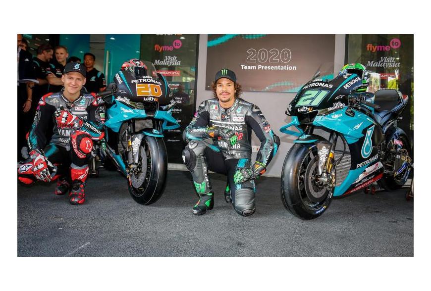 Présentation Petronas Yamaha MotoGP 2020