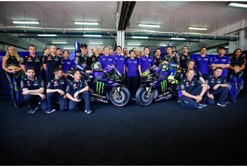 Présentation Yamaha MotoGP 2020