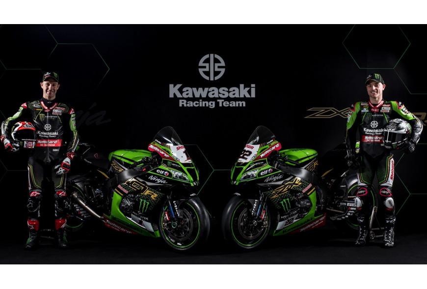 Présentation Kawasaki KRT WSBK 2020