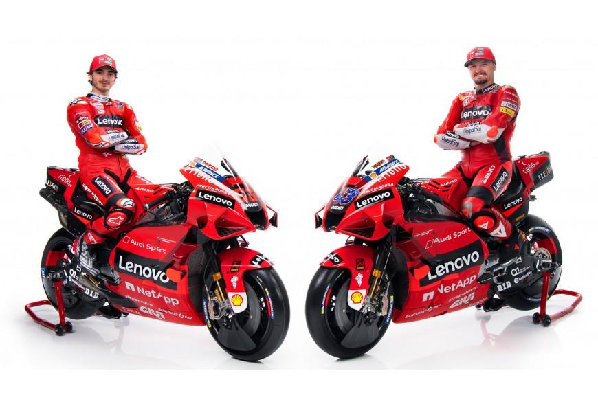 Présentation du Team Ducati Lenovo MotoGP2021