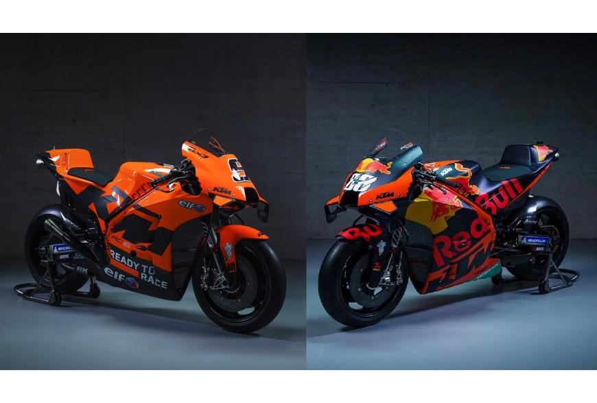 Présentation KTM pour la saison MotoGP 2021