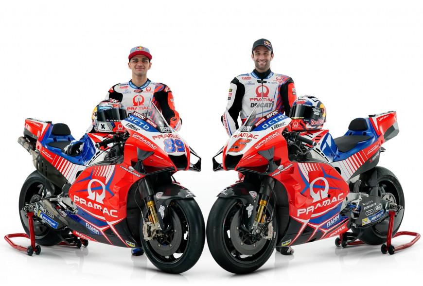 Présentation Pramac Racing MotoGP 2021