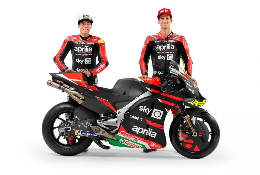Présentation Team Aprilia Racing Team Gresini MotoGP 2021